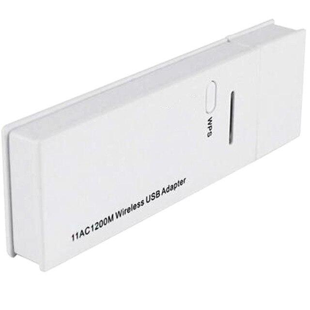 Новая Мода Удобный Wi-Fi Портативный Адаптер 1200 Мбит Сетевой Карты Двухдиапазонный USB 3.0 Адаптер Беспроводной