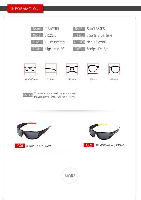 JIANGTUN Qualidade Venda Quente Óculos Polarizados Óculos de Sol Das  Mulheres Dos Homens Óculos de Sol Condução Óculos De Sol Do Moderno  Essencial 7f38256404