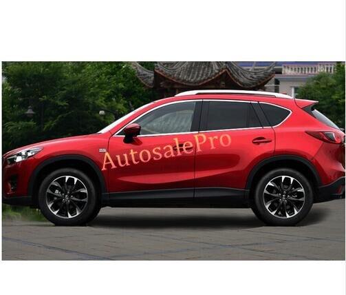 Mazda CX-5 2015 2014 2013 2016 üçün üst + alt polad pəncərə - Avtomobil ehtiyat hissələri - Fotoqrafiya 5