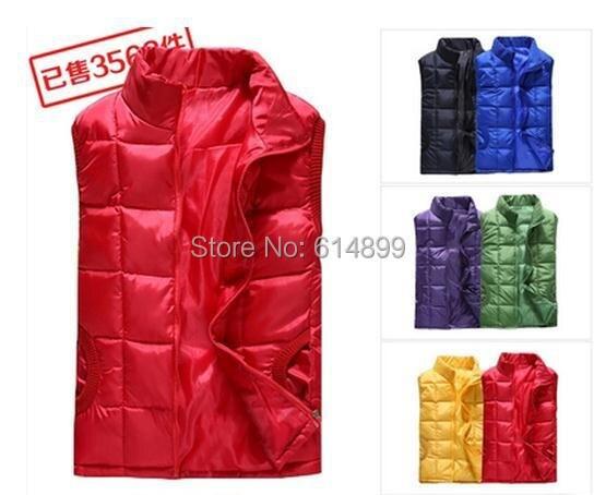 ③Большой размер женский зимний жилет 6 цветов женский ...