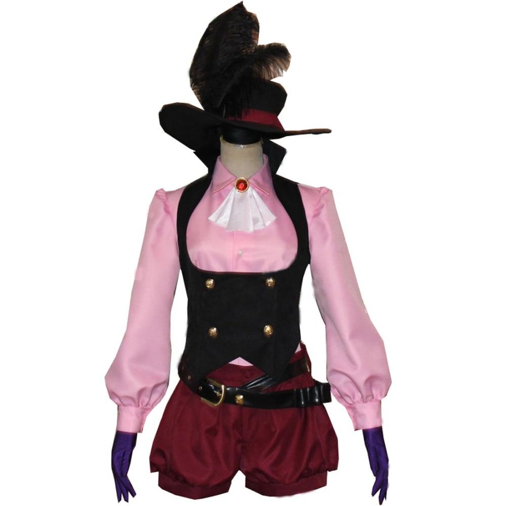 2018 Persona 5 Noir Cosplay Haru Okumura Costume