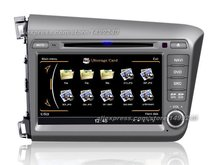 For Honda For Civic 2012~2013 – Car GPS Navigation System + Radio TV DVD iPod BT 3G WIFI HD Screen Multimedia System