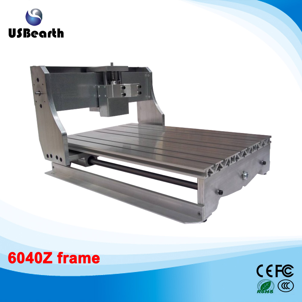 LY 6040Z DIY Frame for Ball Screw CNC Engraving Machine EU free tax free tax to eu high quality cnc router frame 3020t with trapezoidal screw for cnc engraver machine