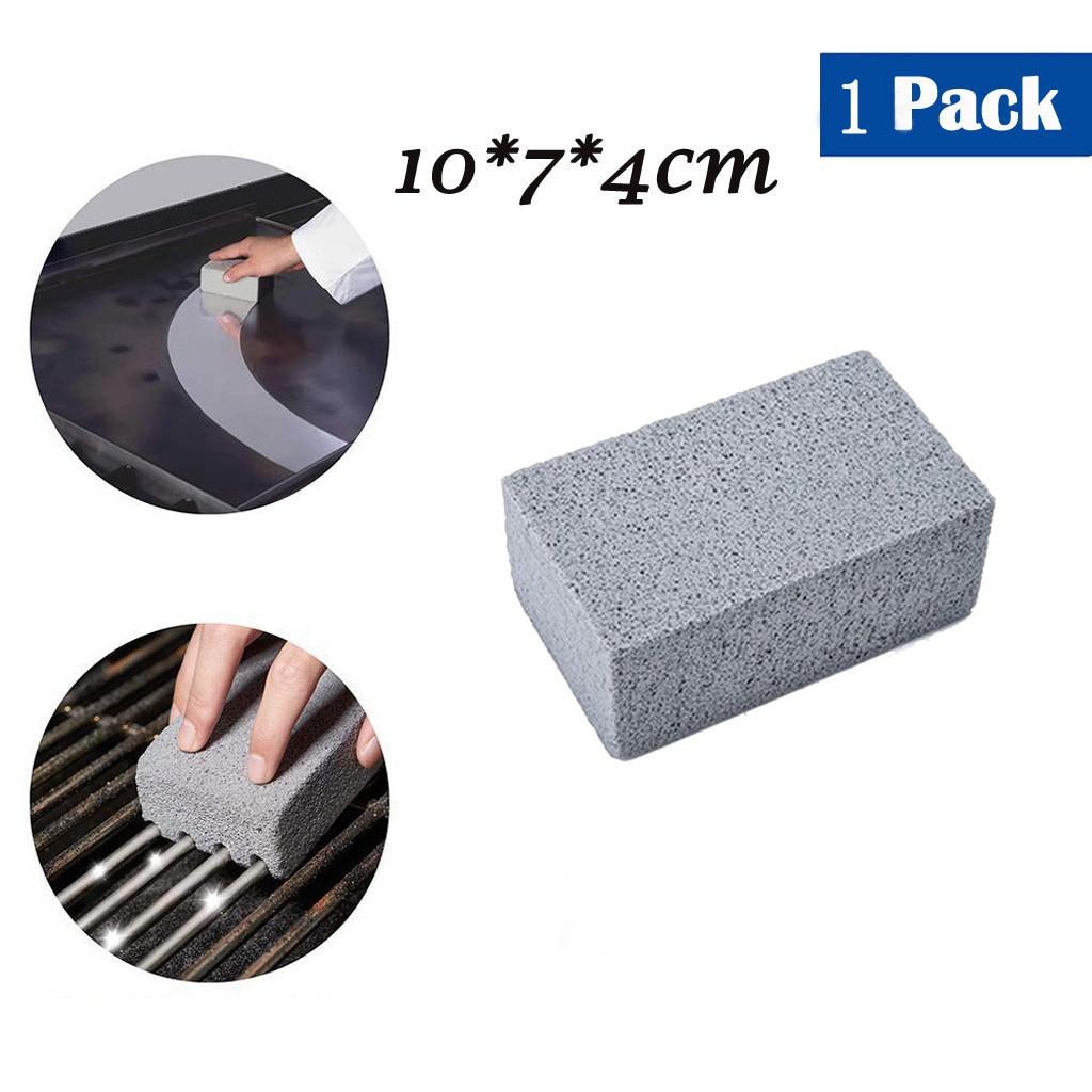 Гриль кирпич, сковородка/щетка для гриля, барбекю скребок сковородка очищающий камень# W