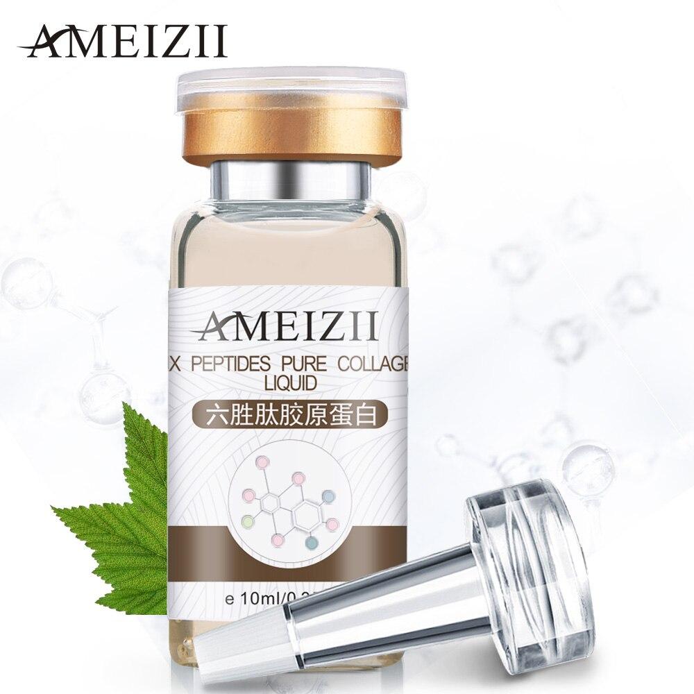 все цены на AMEIZII Six Peptides Serum Collagen Liquid Whitening Firming Skin Care Moisturizing Rejuvenating Face Lift Anti-wrinkle Cream