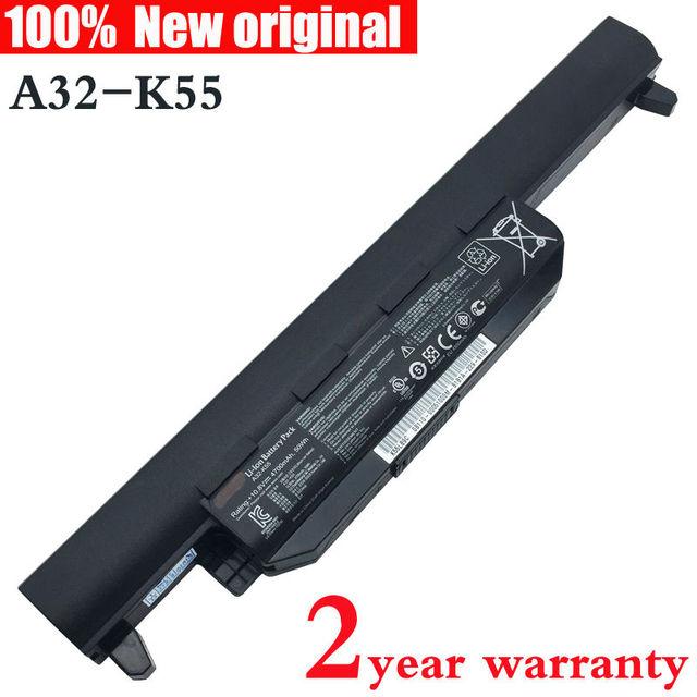 Оригинал А32-K55 батареи Ноутбука для ASUS A45 A55 A75 A85 K45 K55 K75 R400 R500 R700 U57 X45 X55 X75 А33-K55 A41-K55 A75A K45D