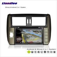 Liandlee Car Android Multimedia Stereo For Toyota Land Cruiser Prado J150 2010~2013 Radio DVD Player GPS Navigation Audio Video