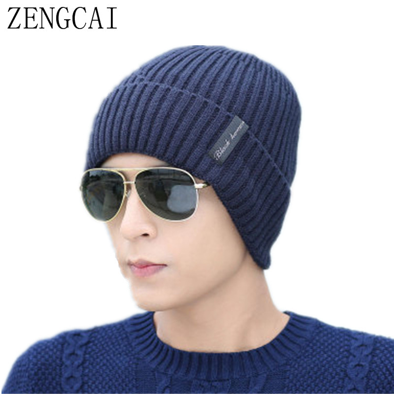 Mens Balaclave Hat Skullies Beanies Cap Winter Face Mask Scarf Sets Fashion Fleece Beanie Knitted Hats Neck Warmer Caps skullies