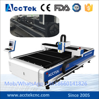 High quality 500w/750w/1000W/2000w fiber laser cutting machine price , auto focus laser head cnc laser cutter