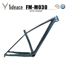 2019 Tideace Chinese mtb frame 29er 142mm/148mm boost mountain bike frame 29 bicycle frame carbon max 2.35 tires ultralight 1240g boost fs29t 28 22 dt240 center lock ultralight mtb carbon bike clincher wheels mountain bike boost wheels 29er