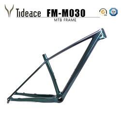 Tideace chińska rama mtb bicicleta 29er 142/148mm wzmocnienie rama roweru górskiego 29 rama roweru węgla max 2.35 opon w Ramy rowerowe od Sport i rozrywka na