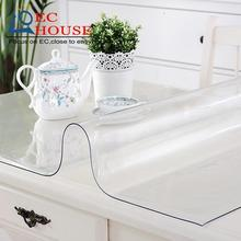 ECMARVELLOUS YST PVC Tablecloth Table Waterproof Material