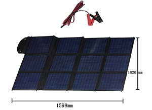 Russian free shipping <font><b>Solar</b></font> <font><b>Panel</b></font> Travel essentials Output Controller Flexible <font><b>150W</b></font> Foldable Charger Battery Power in Travel image