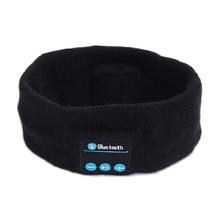 Trådlös Bluetooth-hörlurar med huvudband Headscarf Stereo Musik Handsfree Smart Sweat Bevis Sport Yoga Avtagbar