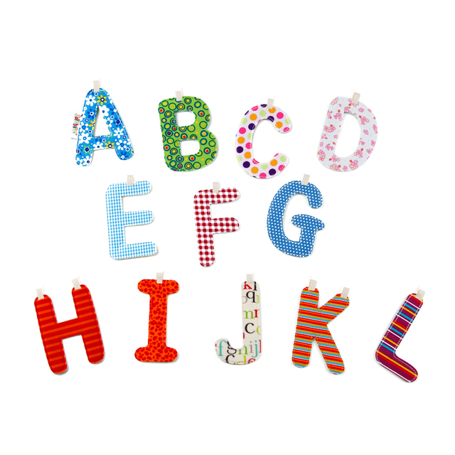 Jolly baby Toy Cute Safe Letter Alphabet Card Book Soft Puzzle Early - alphabet card