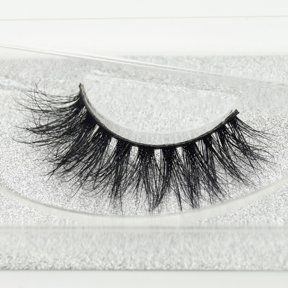 Visofree Eyelashes 3D Mink Eyelashes Long Lasting Mink Lashes Natural Dramatic Volume Eyelashes Extension False Eyelashes D20