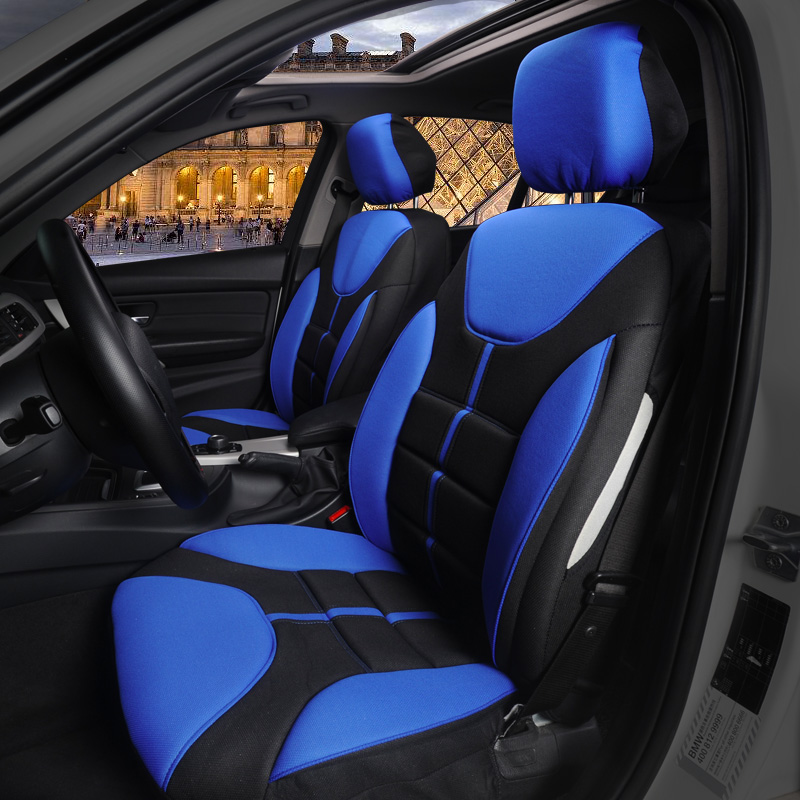 Car Seat Cover Universal Automobile Front Seat Cover Protector Sport Car Styling Interior Decoration Accessories Polyester шины contyre arctic ice 175 65 r14 82q