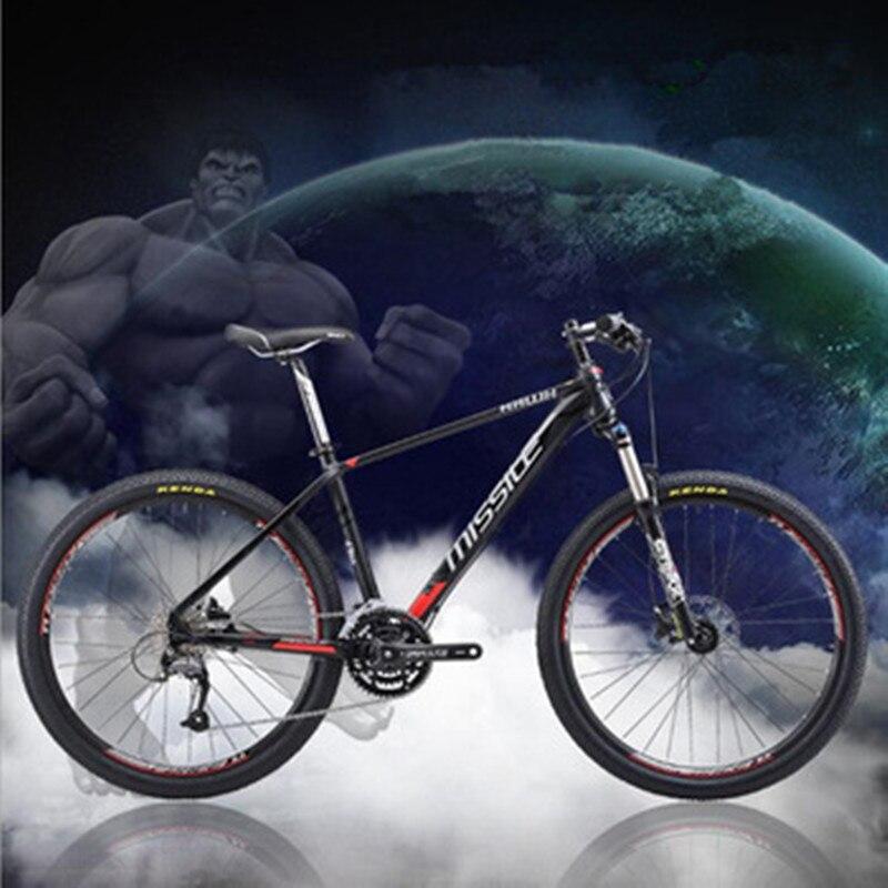 Vtt VTT 27 vitesses légendaire 26 pouces bricolage 9 vitesses vélo en alliage d'aluminium scellé roulement roues 15/16/17