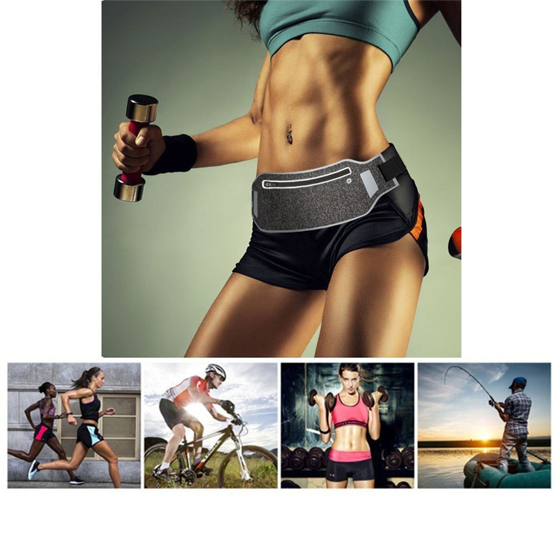 Outdoor Running Waist Bag Waterproof Mobile Phone Holder Jogging Belt Belly Bag Women Gym Fitness Bag Lady Sport Accessories 7