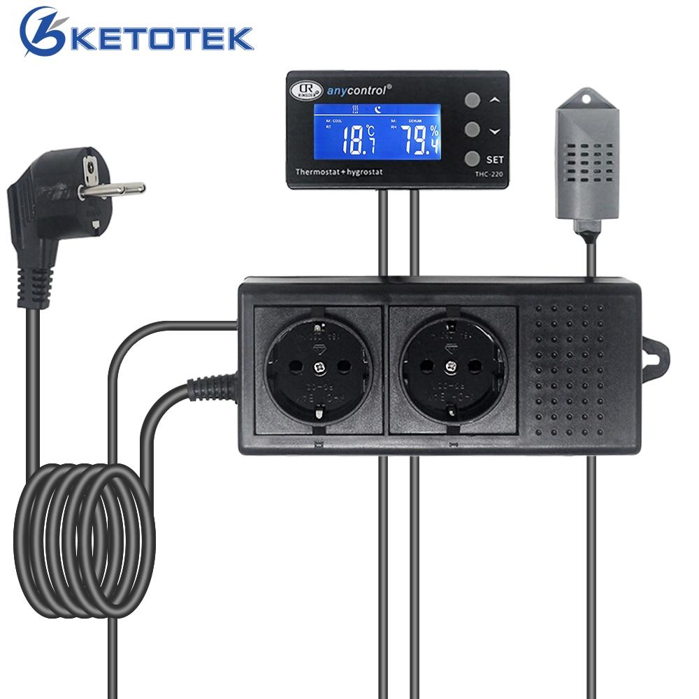 XH-W3001 LCD Temperature Controller Microcomputer Thermal Regulator UK STOCK