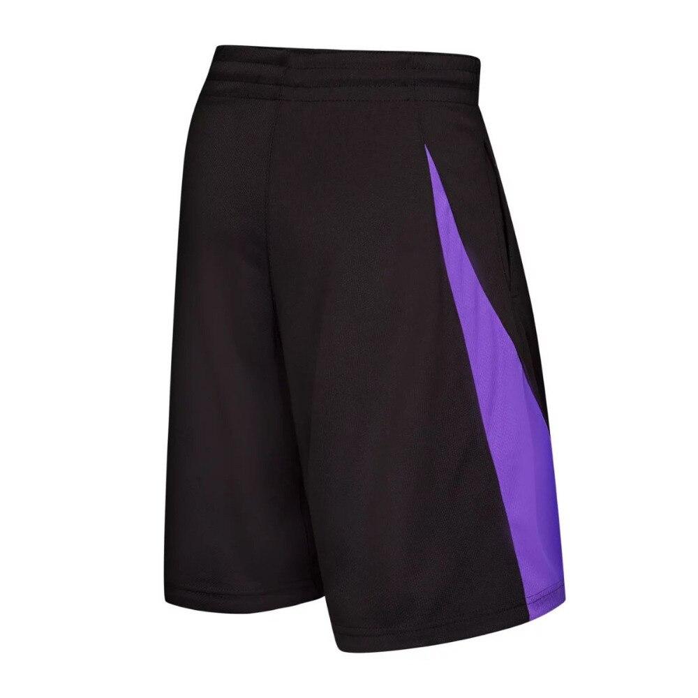 Mens basketball shorts on sale free shipping - 2017 New Double Color Basketball Shorts Men S Loose Cool Games Walking Sports Shorts Man Knee Length