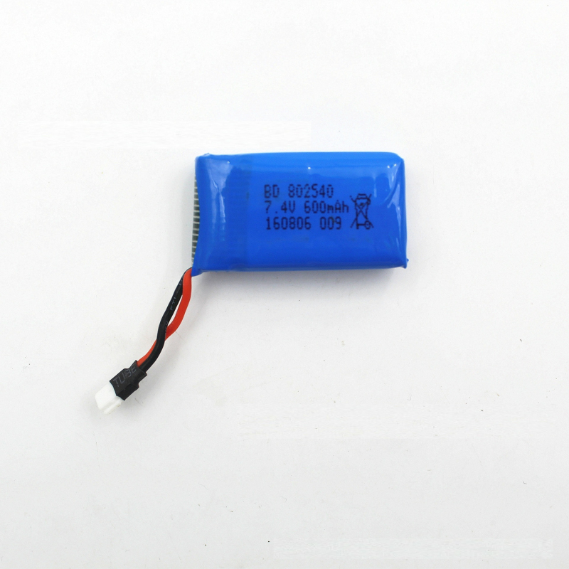 2pcs or 3pcs <font><b>battery</b></font> <font><b>7.4V</b></font> <font><b>600mah</b></font> <font><b>Lipo</b></font> <font><b>Battery</b></font> For DM009 RC helicopter spare parts Accessories image