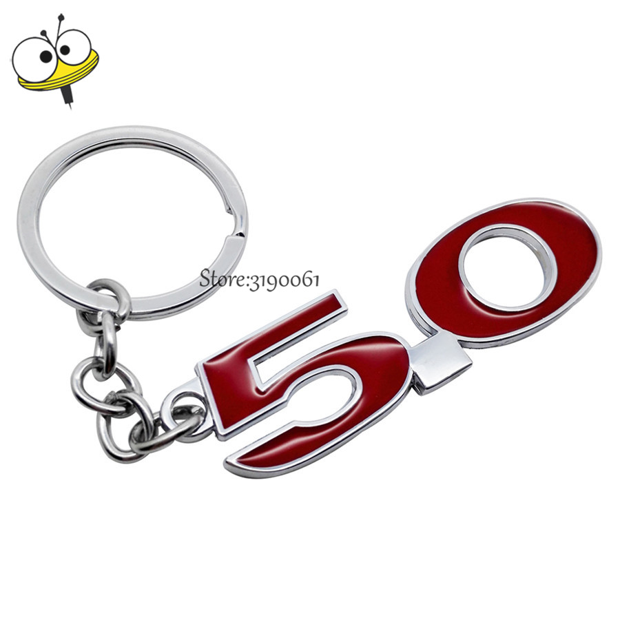 TOYOTA High Quality Keychain Strong Metal Toyota Car Logo keyring Key Fob
