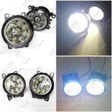 6000K CCC 12V car-styling DRL Fog Lamps lighting LED Lights 9W /1 SET For Suzuki SX4  Grand Vitara 2  ALTO 5  SWIFT 3  JIMNY FJ