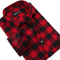 Free Shipping 2017 New Spring Autumn Grid long sleeve casual mens shirts Leisure styles slim fit plaid shirt camisas clothes