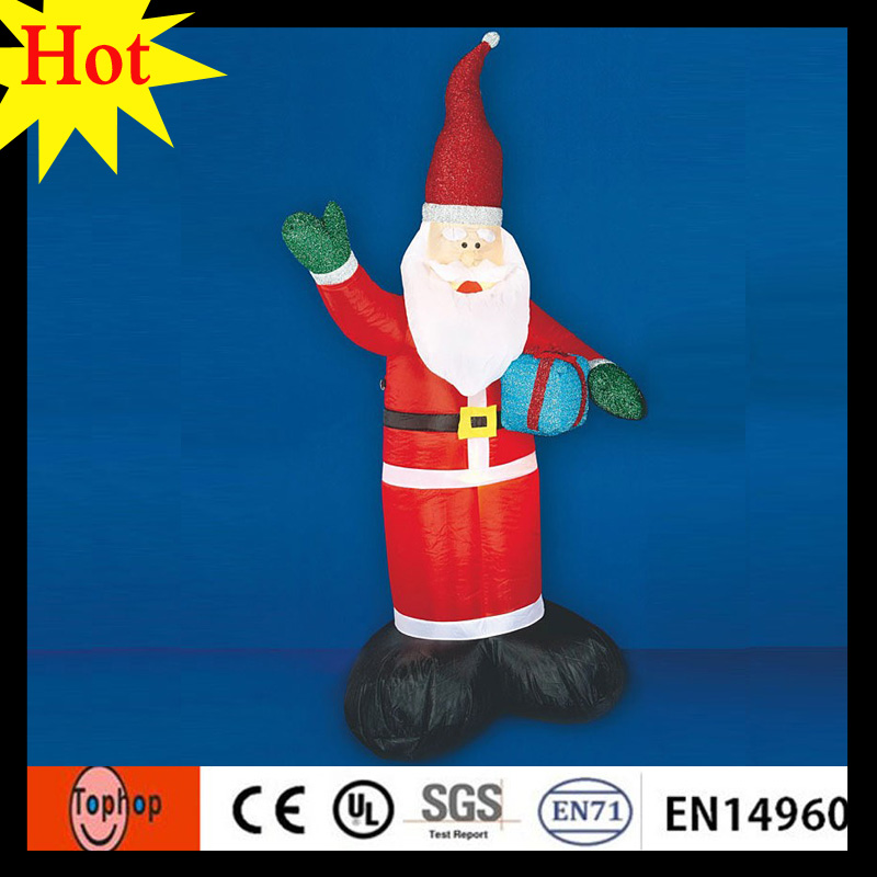 6m 20ft new years eve party supplies big lots christmas santa claus figurines decorations with chimney 420d oxford in inflatable bouncers from toys - Big Lots Christmas Lawn Decorations