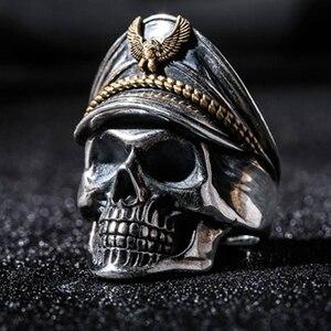 Classic Gothic Skull Men Ring