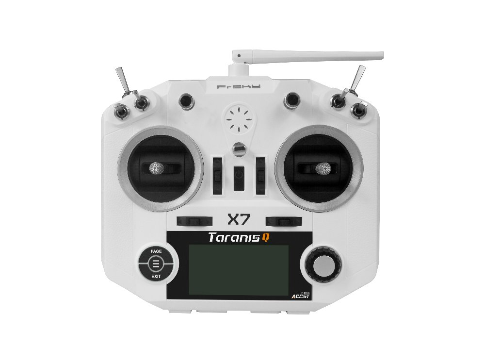 Frsky Taranis Q X7 QX7 2.4G 16Ch ACCST Transmitter with Haptic Vibration Feedback System Powerful Radio System for RC FPV Drone frsky accst taranis q x7 qx7 2 4ghz 16ch transmitter without receiver for rc multicopter
