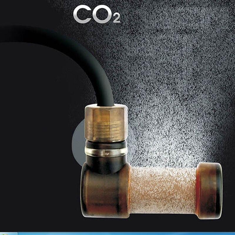 difusor de di/óxido de Carbono Atomizador difusor de CO2 para Acuario difusor de CO2 atomizador para Equipo de Acuario Super Fish Tank Sistema de disoluci/ón de di/óxido para Tanque de Peces