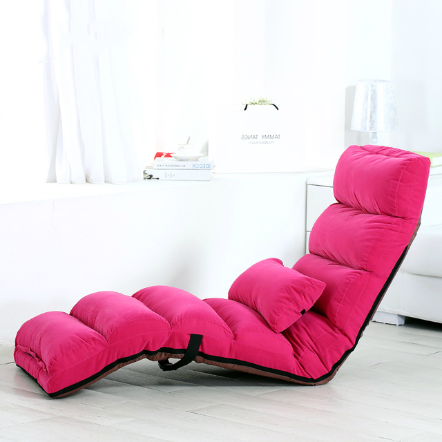 Multifunctional Lazy Sofa Folding Chair Backrest Stool Tatami Living Room Leisure Lounge