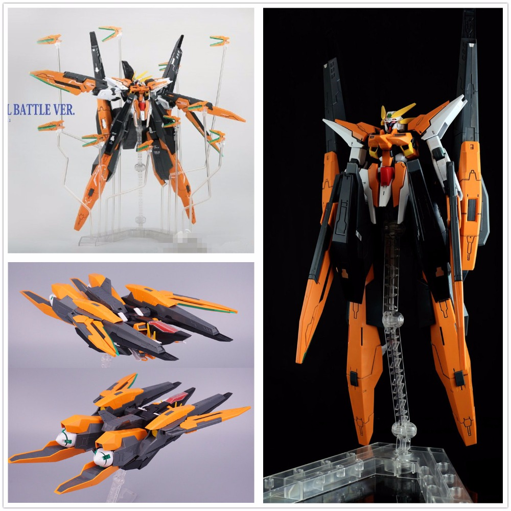 Hobby Star HS Gundam Model HG 1/144 Harute Final Battle ver GN-011 transform