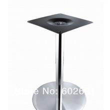 Качество круглый стол из нержавеющей стали кафе подвал хороший для внутреннего и наружного kd упаковка 1 шт./коробка быстрая