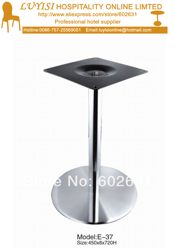 quality round stainless steel cafe table basement good for indoor and outdoor kd packing 1pc