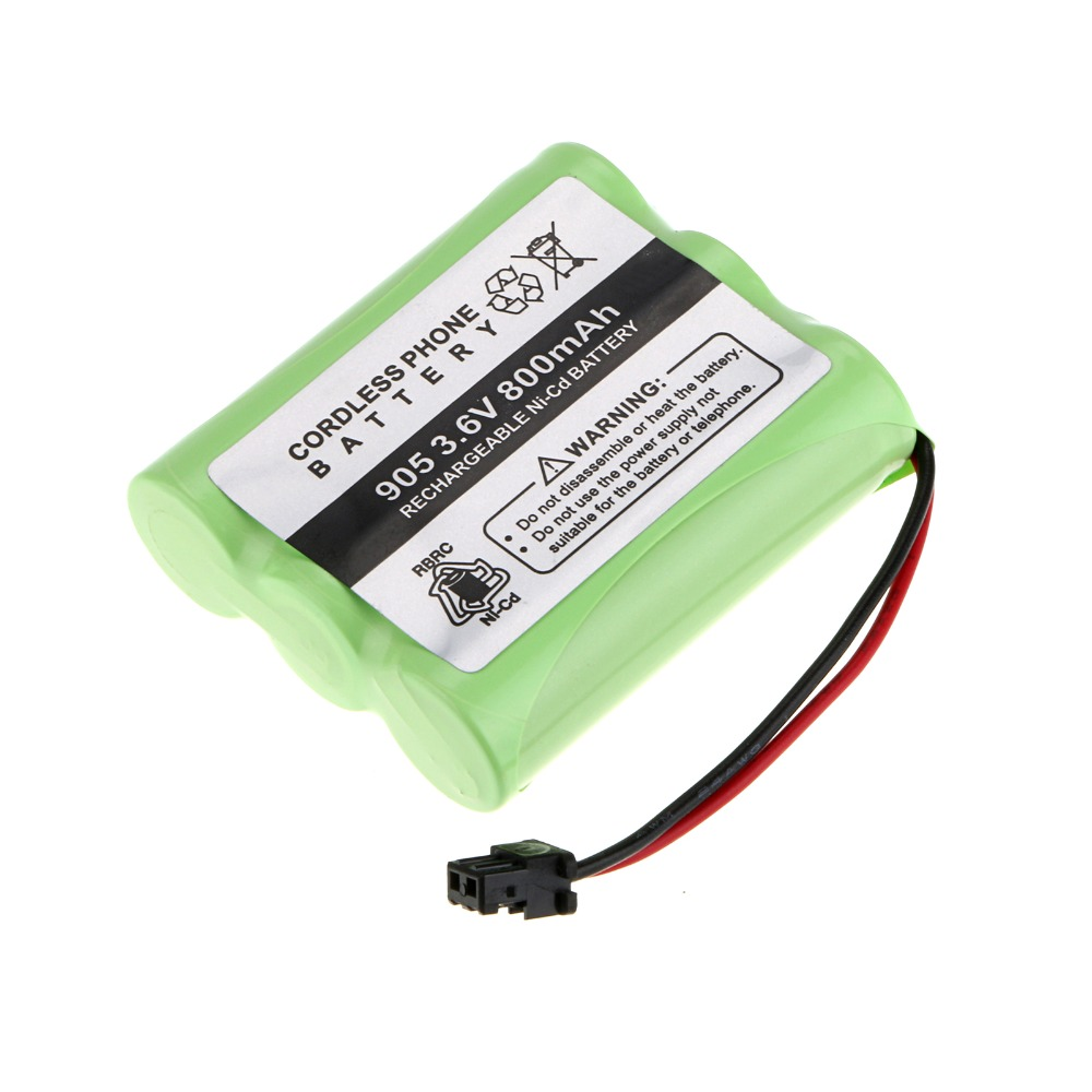 1 Packs A Set! 800 MAh NI-CD Phone Battery For Panasonic KX-A36 P-P501 For Uniden BT-905