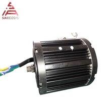 Средний приводной двигатель QS 120 2квт 72V60KPH с приводом звездочки 428