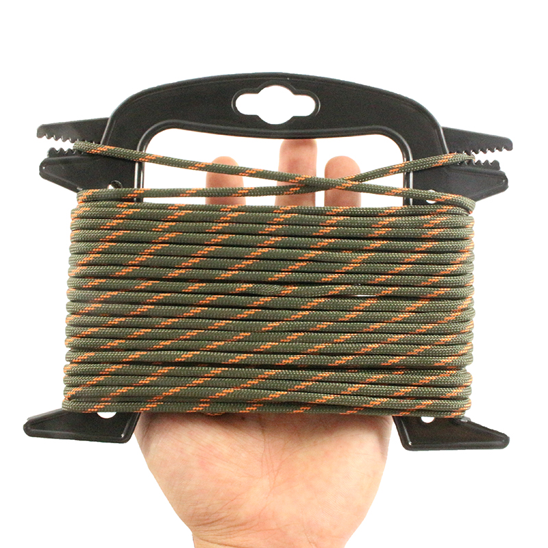 Paracord Winder Spool Cord Winder Outdoor Camping Line Thread Wire Organizer ^F