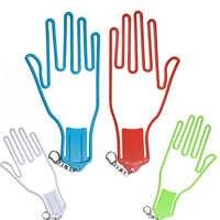 Gants de Golf support support séchoir cintre civière avec sangle gants de Golf civière golfeur outil engrenage en plastique
