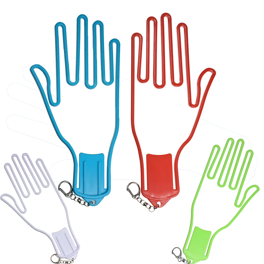 Golf Gloves Holder Rack Dryer Hanger Stretcher With Strap Golf Gloves Stretcher Golfer Tool Gear Plastic