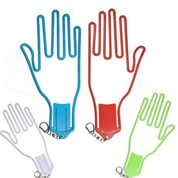 Rękawice golfowe uchwyt stojak suszarka wieszak nosze z paskiem rękawice golfowe nosze sprzęt Golfer z tworzywa sztucznego