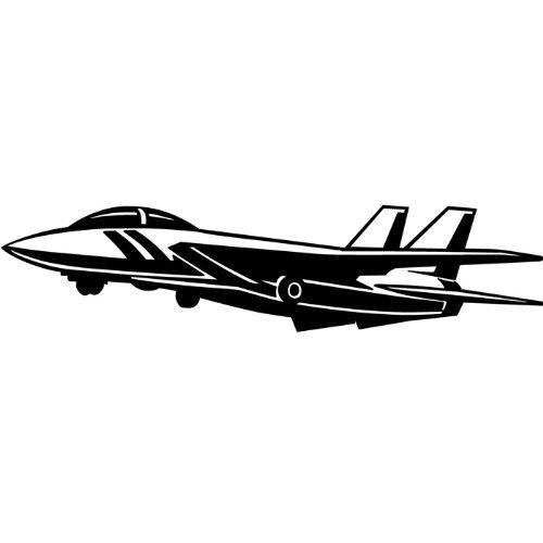 Fighter Plane Biplane Vinyl Wall Decal Airplane Boys Mural Wall - Vinyl wall decals airplane