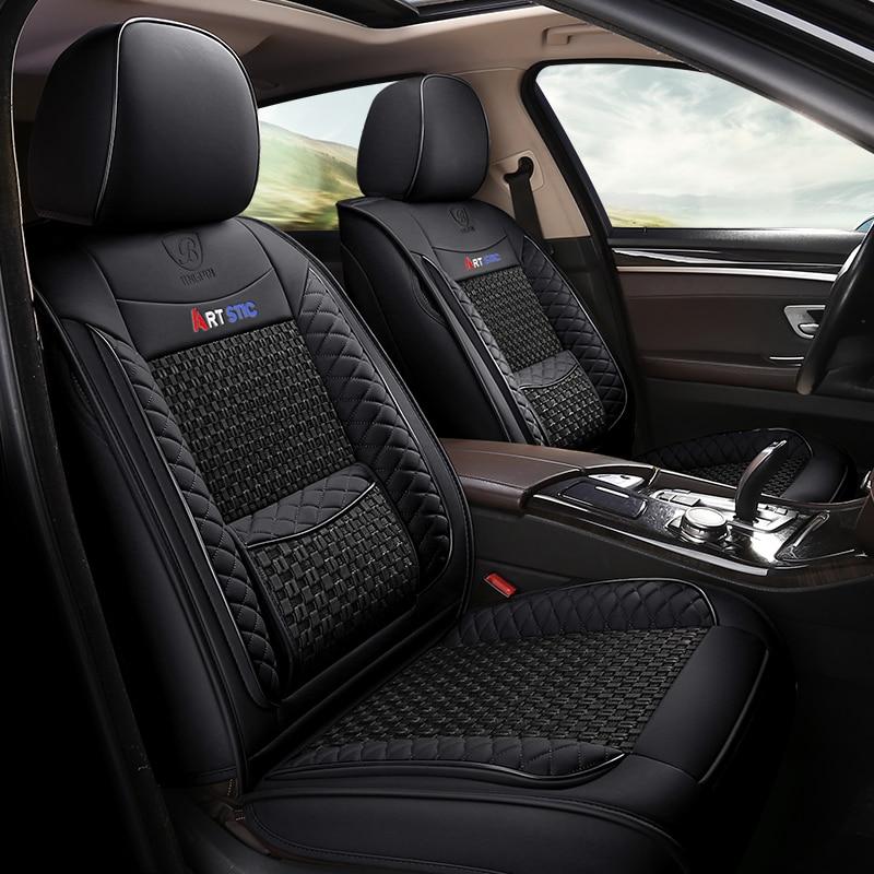 Accessoires intérieurs de couverture de siège de voiture pour mercedes benz classe c w202 t202 w203 t203 w204 w205 c200 classe e w210 t210 w211 t211