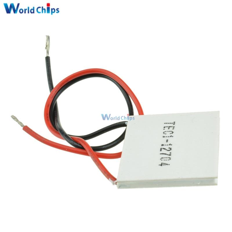TEC1-12704 TEC1 12704 12V Heatsink TEC Thermoelectric Cooler Peltier 30mm*30mm