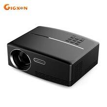 Gigxon-GP80 G88 Nueva llegada LLEVÓ el proyector 800×480 píxeles LCD proyector de cine en casa portátil 23 idiomas