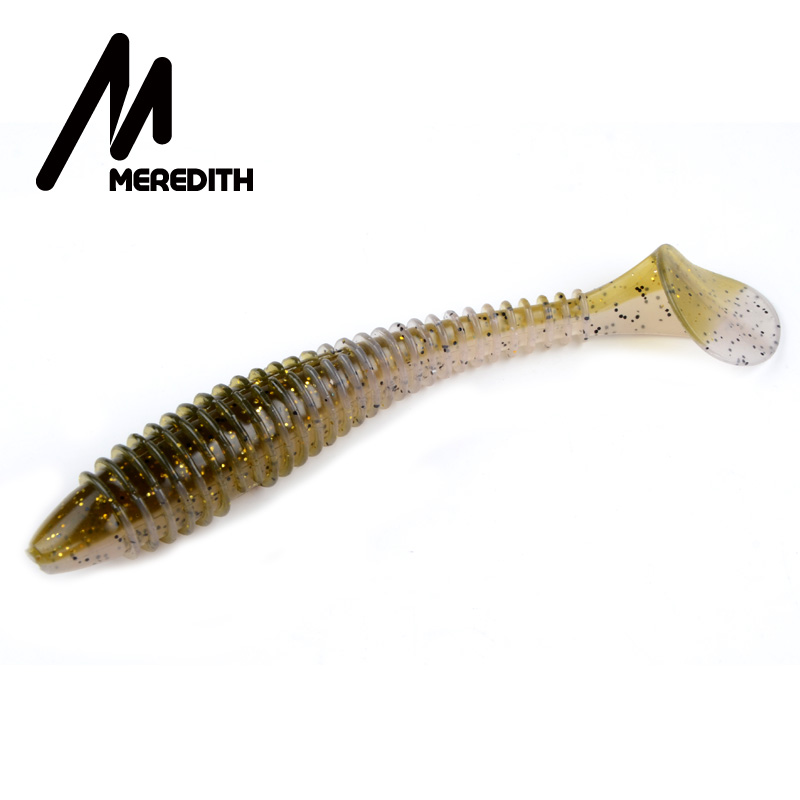 MEREDITH Fishing Lures Swing Impact FAT Swimbait 6.8'' 180mm/33.6g 1pcs Craws Soft Lures Fishing Soft Bait Bass Bait meredith fishing lures crazy flapper 70mm 3g 10pc lot craws soft lures fishing for fishing soft bait shrimp bass bait peche gear