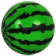 Hot niños juguete inflable bola 23 cm bolas de plástico sandía bola pvc toys regalos del bebé juguetes de los niños cosas baratas