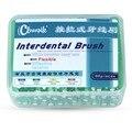 Nuevo 60 unids/caja Fácil Uso Dental Cepillos Interdentales Dentales Hilo Importado de Acero de Color 0.8 MM Cuidado de la Higiene Oral Envío Gratis